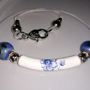 Sapphire Petals Necklace